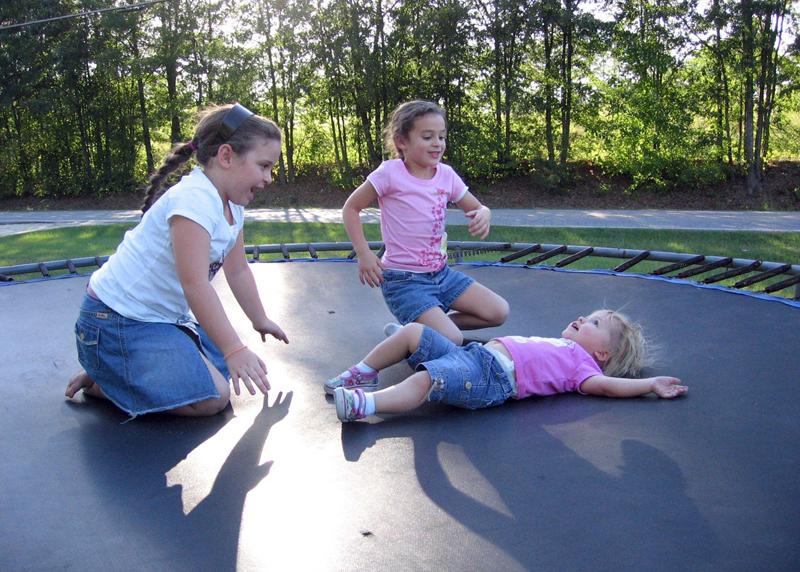 Trampoliner til børn